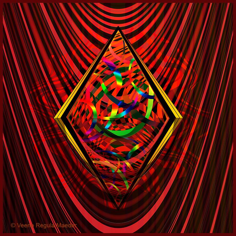 Kaleidoscopic web